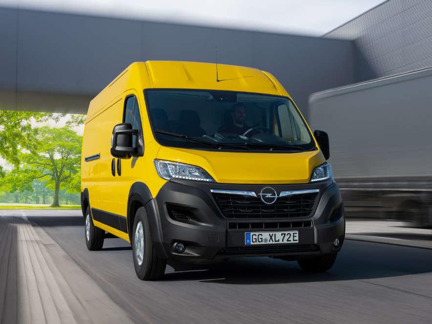Opel Movano-e — новий електричний фургон