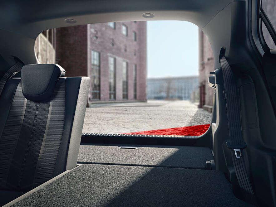 Opel, Mokka, простір для багажу