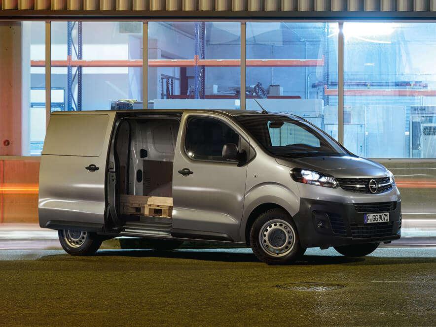 Opel, Vivaro, відсувні двері, зовнішній вигляд